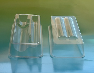 All styles of shipping & storage trays, all materials, no quantity minimums. In-house tooling,.